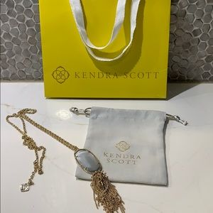 Kendra Scott tassel necklace